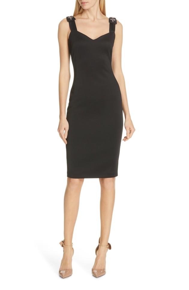 cdf2e92e217d Ted Baker London Nancila Jewel Shoulder Sheath Dress AKA  LBD    Only two  sizes available. I m doing my best!