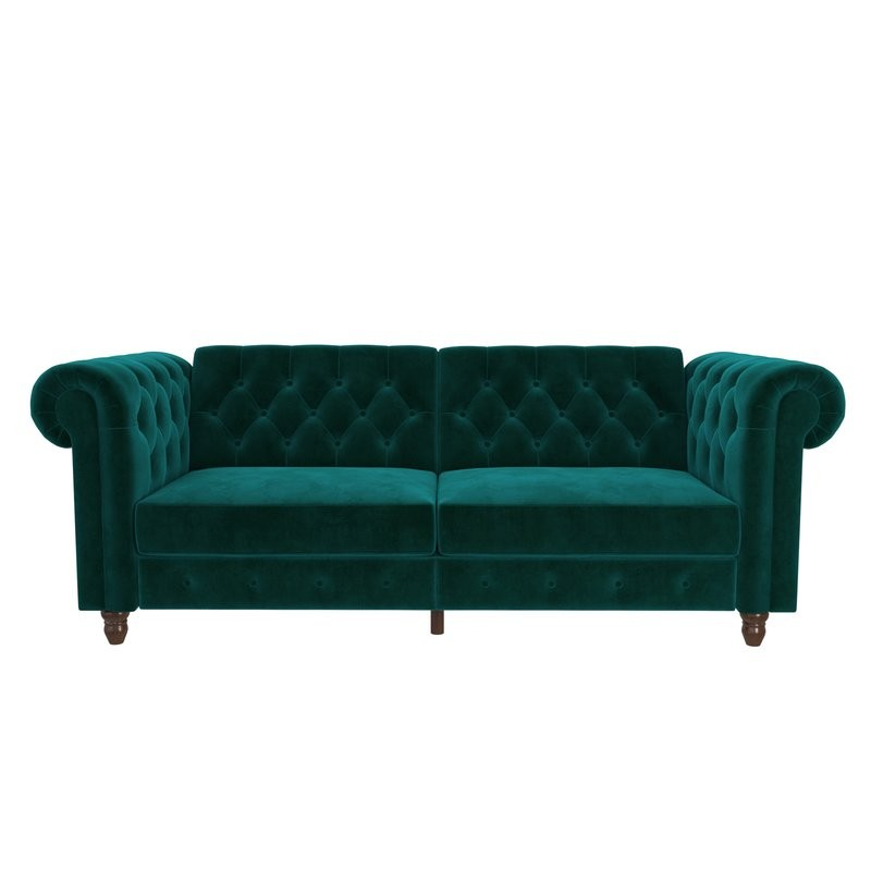 Amazing 30 Lush Green Velvet Sofas In Cozy Living Rooms Onthecornerstone Fun Painted Chair Ideas Images Onthecornerstoneorg