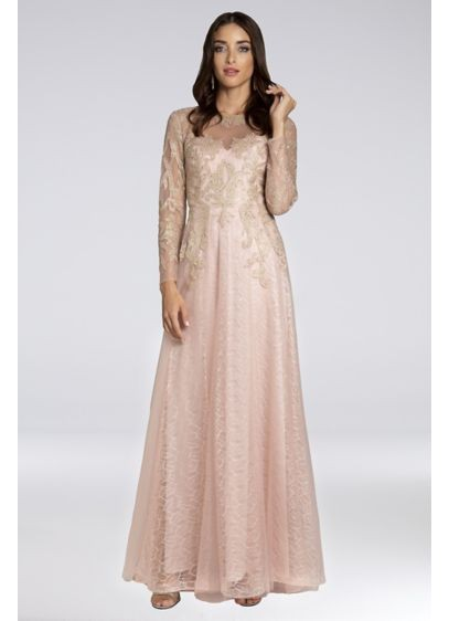 8155fded15 Where to Find Rose Gold Mother of the Bride Gowns and Dresses