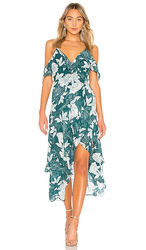 0c0079efc20 Sunrise in Paradise Blue Multi Tropical Print Maxi Dress – Lulus