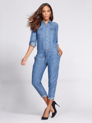 20f7b9661dc My Favorite Spring Trends - And The Denim Jumpsuit