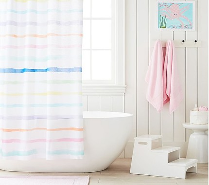 Remember You Can Always Easily Change Out Your Shower Curtain Down The Line And Put In Something More Refined