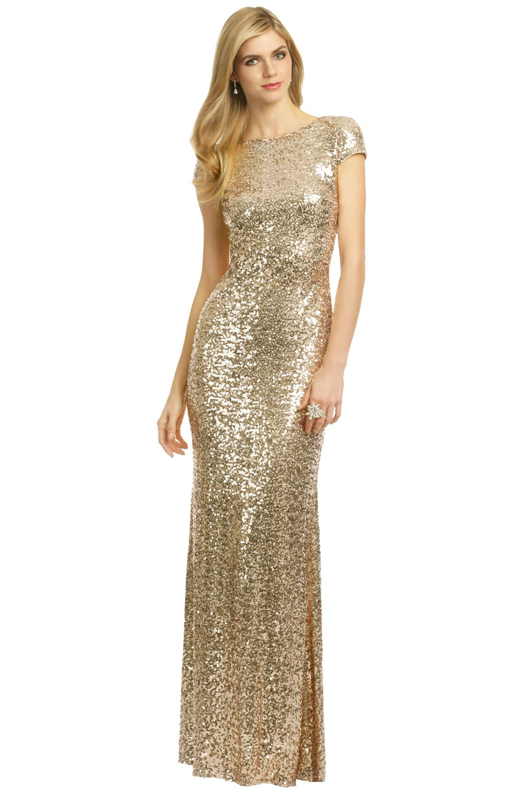 Sequined bridesmaid dress rent the runway ombrellifo Images