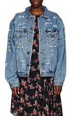 cace02c0 Bethenny Frankel's Crystal Embellished Denim · Sold Out Topshop Denim Jacket.  Style Stealers: <. $596.00. $128.00. $240.00. $245.00. $598.00