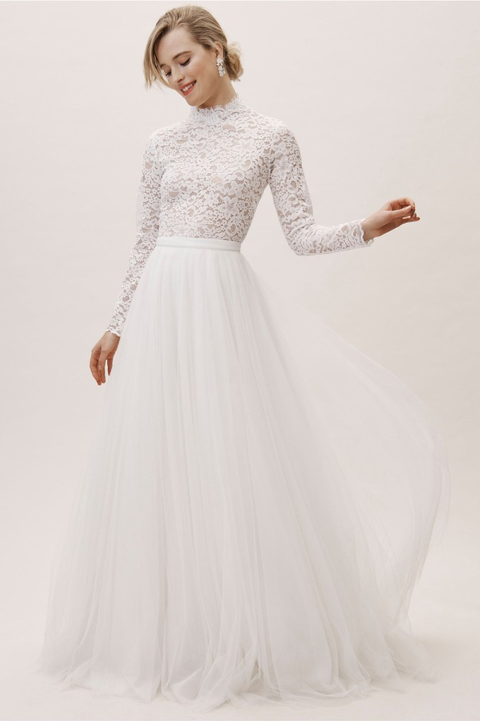 291e065c2d3784 Possibly the Most Epic Selection of Two Piece Wedding Dress Bridal ...