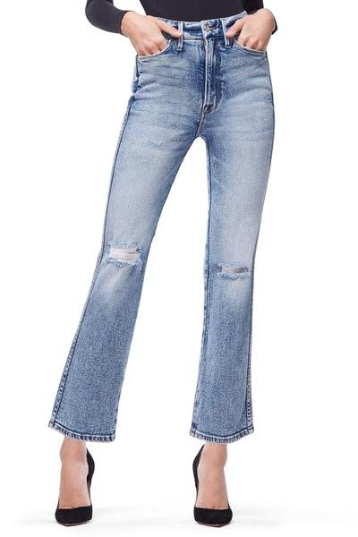 edff2fe767f Good American - Corset-shaping waistband that smooths in the front and  lifts in the back. Levi s® Curvy Skinny Jeans