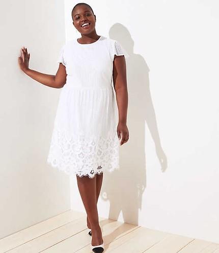 Plus Size White Dresses | Maddy Gutierrez