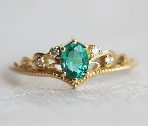 Gemstone Wedding Rings.Find Out Which Colorful Gemstone Engagement Ring Was Made For You