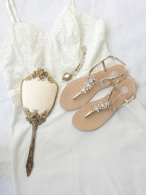50408aee4 Sandals for Beach Weddings and Beach Wedding Shoes. jeweled ...