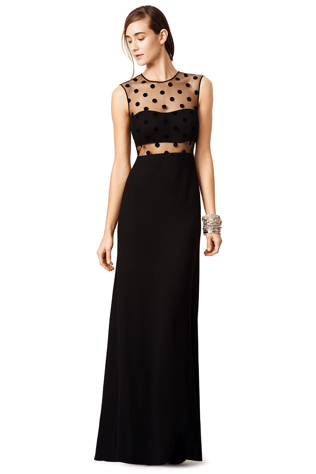 Black dress guest wedding - Jill Jill Stuart