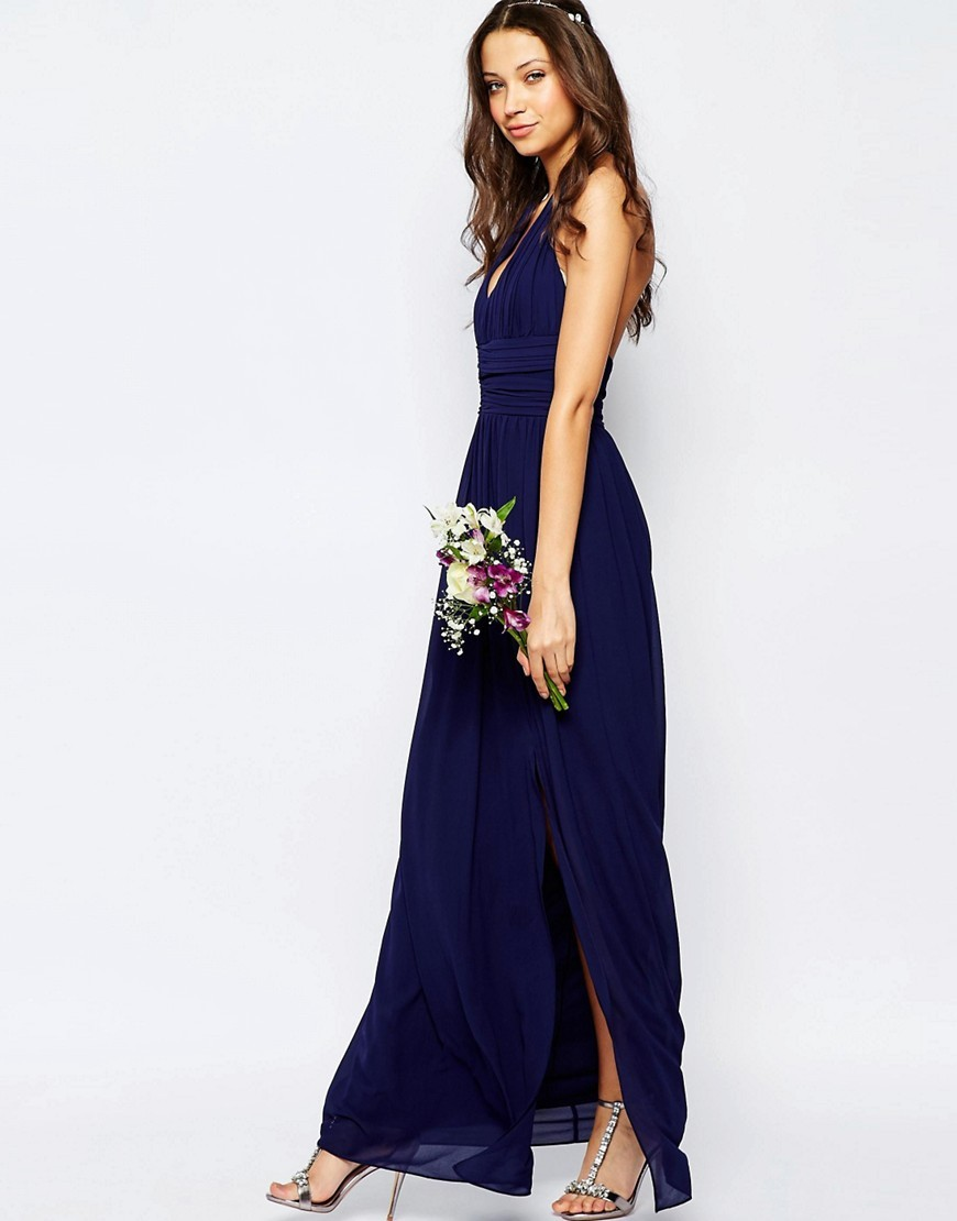 cute and affordable bridesmaid dresses navy dresses for weddings Asos