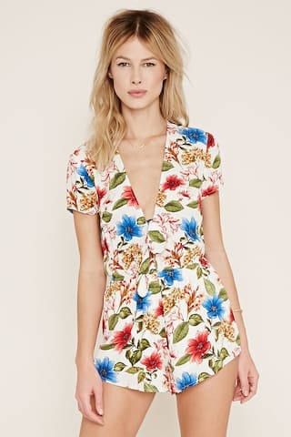 3472ab6da8a8 I ve selected 8 other floral rompers that I m in LOVE with. They are also  all under  100! Let me know which floral rompers are your favorites!