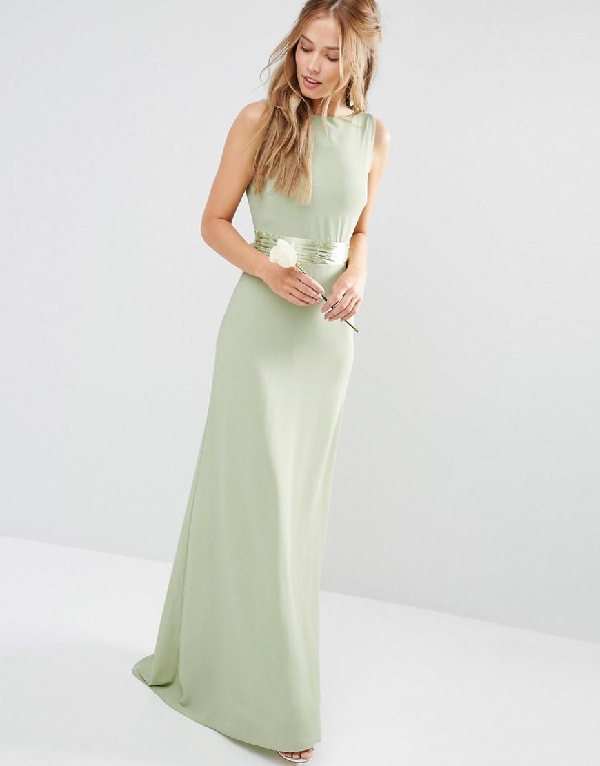 Sage green bridesmaid dress asos ombrellifo Choice Image