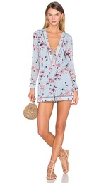House of Harlow 1960 Floral Long Sleeve Romper from Revolve 6992908c7