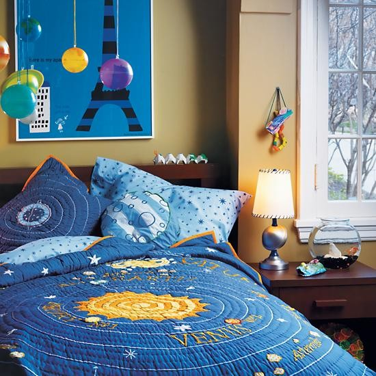 Outer Space Bedroom | Solar System, Planets & Rocket Bedding & Decor