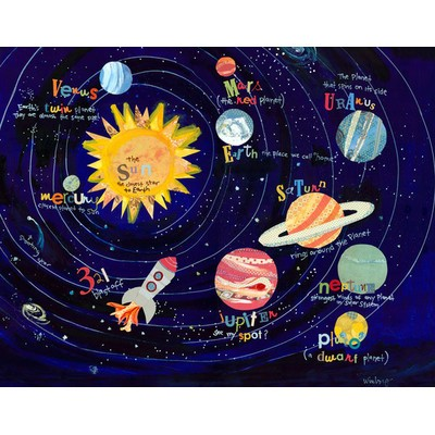 Wayfair. Outer Space Bedroom   Solar System  Planets   Rocket Bedding   Decor