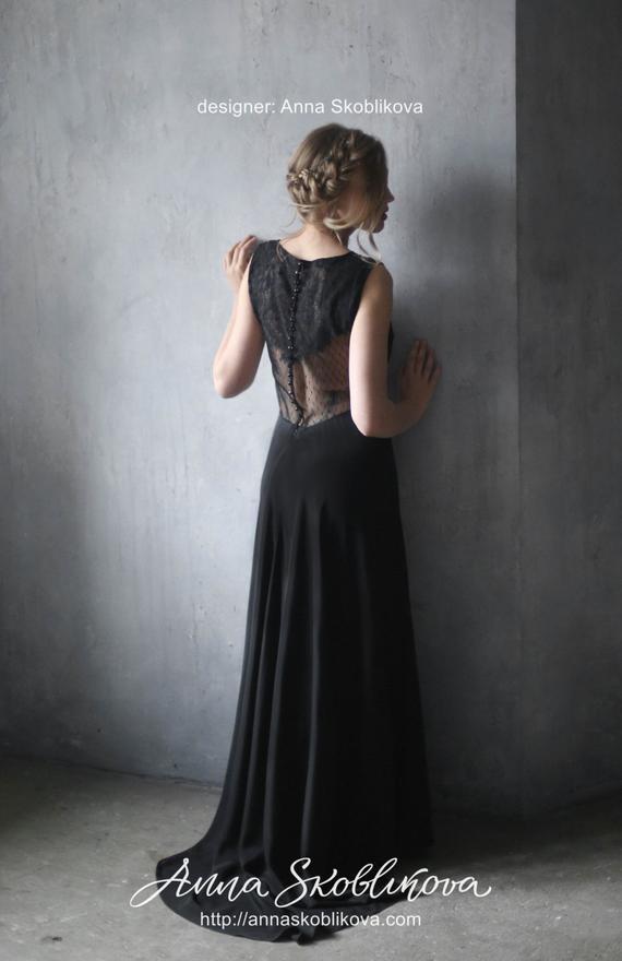 343a6484382 Une robe de mariée noire
