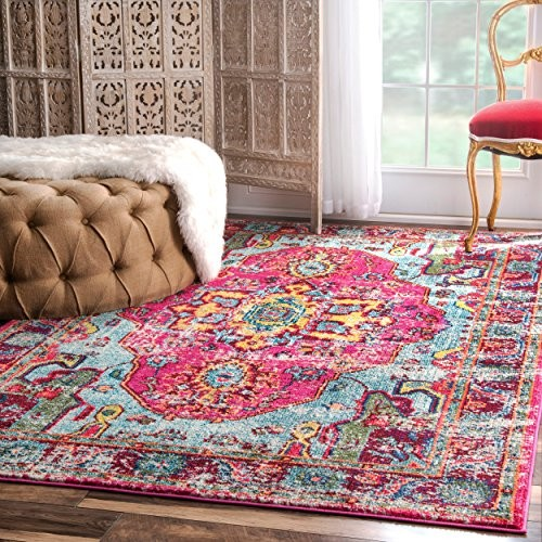 A Pink Rug For Every Style - from Modern Blush to Vintage Hot Pink ...