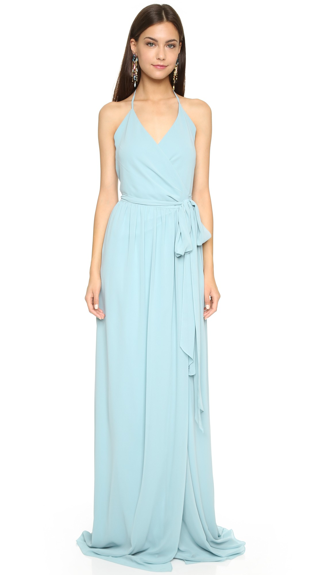 Light blue bridesmaid dresses shopbop ombrellifo Images