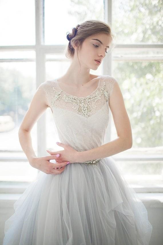 20 ultra chic wedding dresses for the modern romantic bride 171679 junglespirit Choice Image