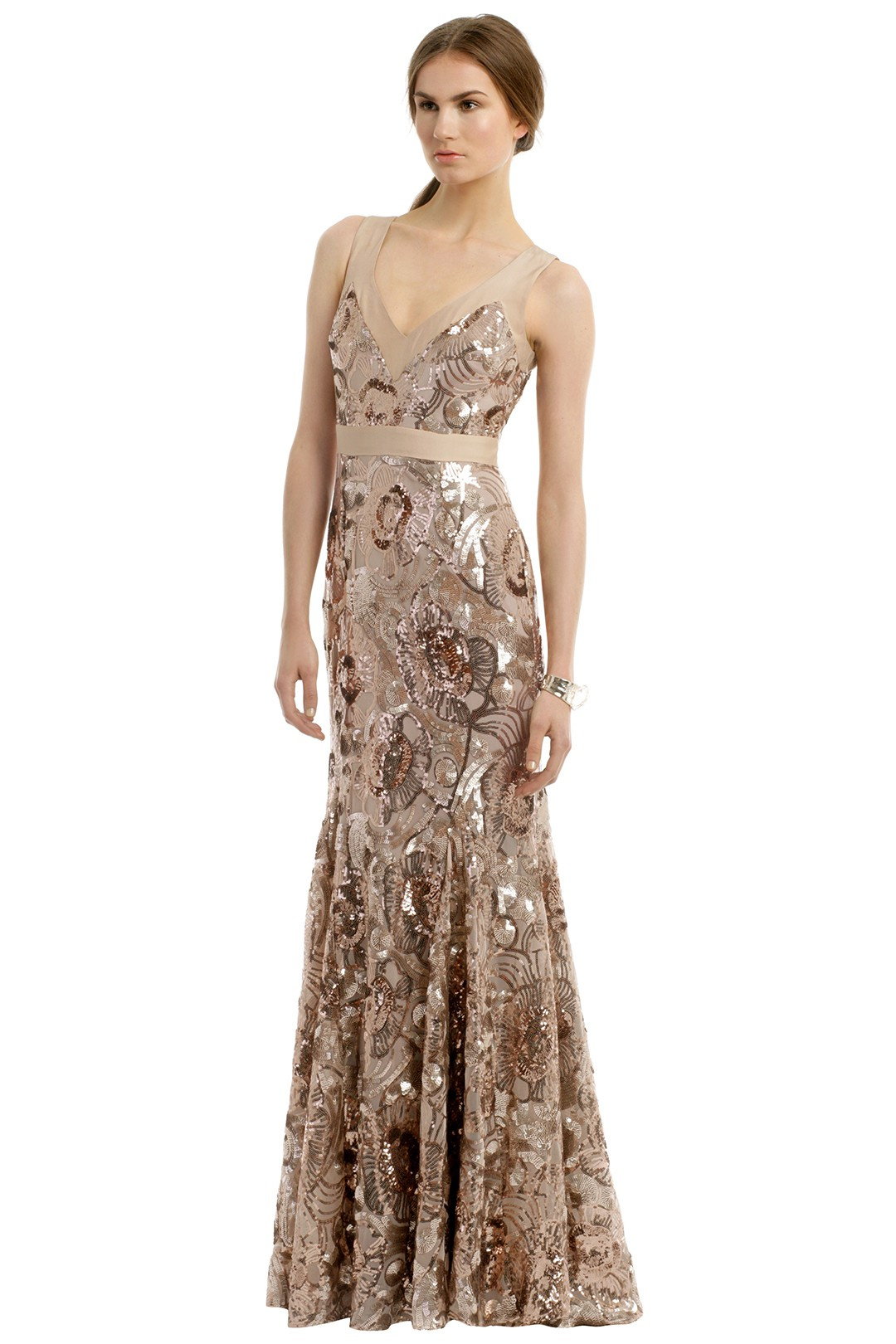 Sequined bridesmaid dress rent the runway ombrellifo Choice Image