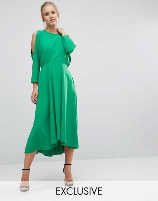 Our Favorite Midi Dresses for Wedding Guests - The Motherchic