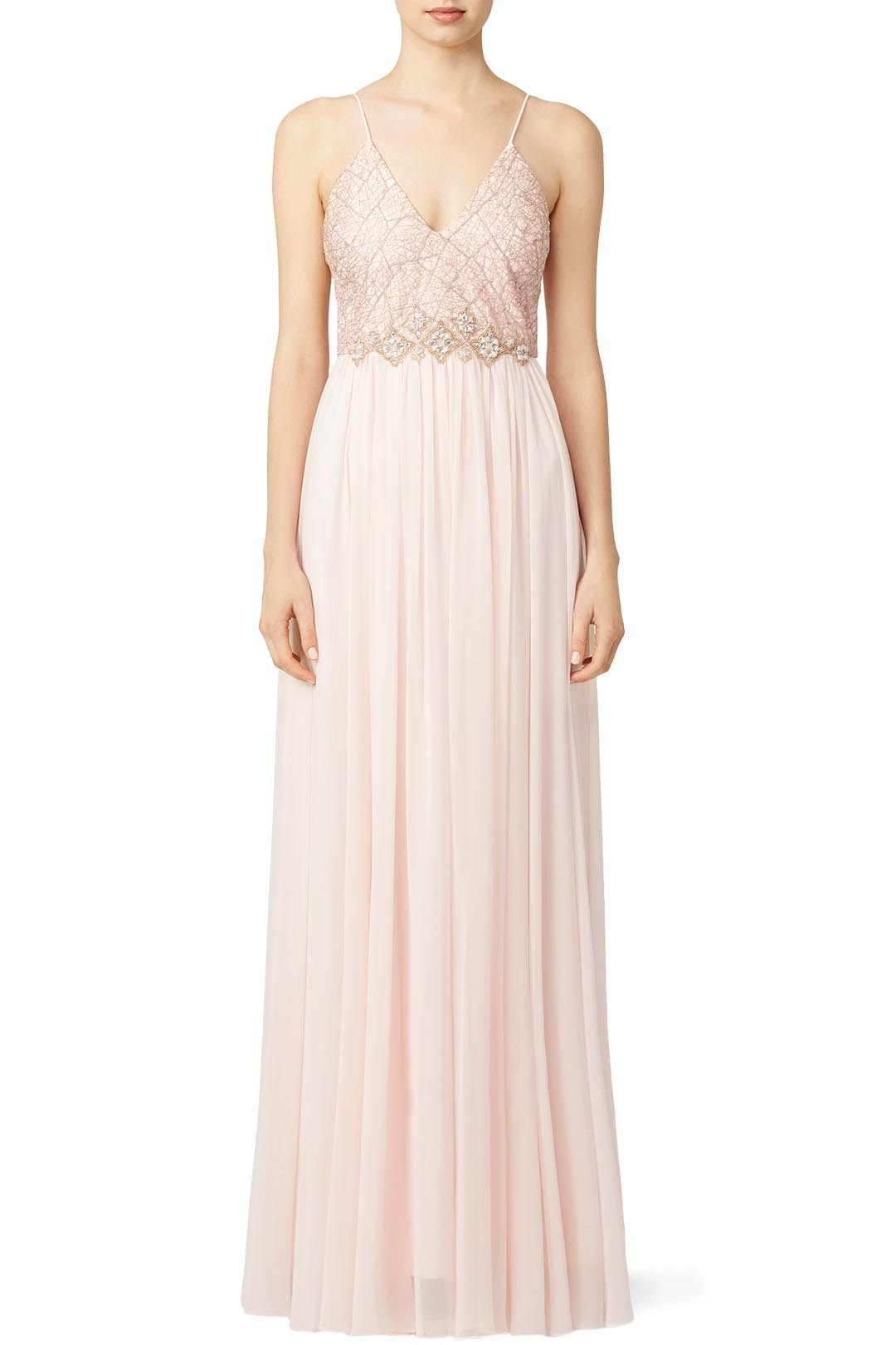 Beaded metallic and sequined bridesmaid dresses rent the runway ombrellifo Image collections