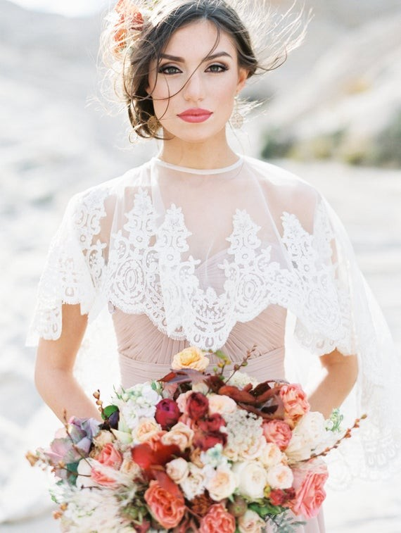 These cool bridal jackets will keep you warm on your wedding day these cool bridal jackets will keep you warm on your wedding day junebug weddings junglespirit Choice Image