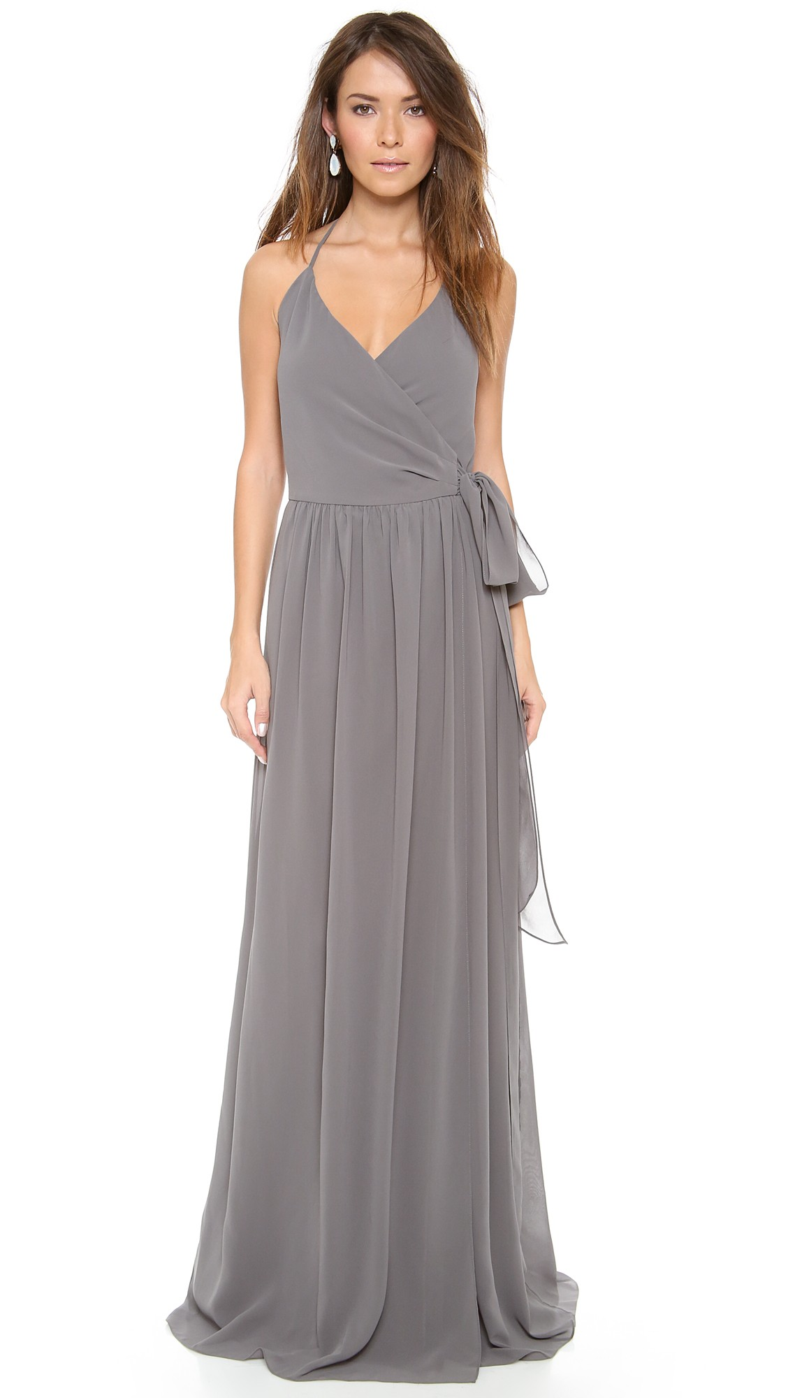 Silver or gray bridesmaid dresses shopbop ombrellifo Choice Image
