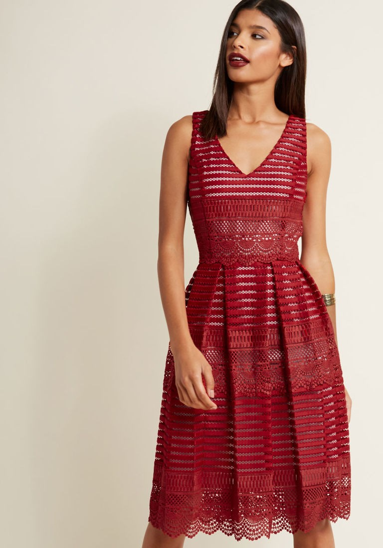 Semi formal wedding guest dresses modcloth ombrellifo Image collections