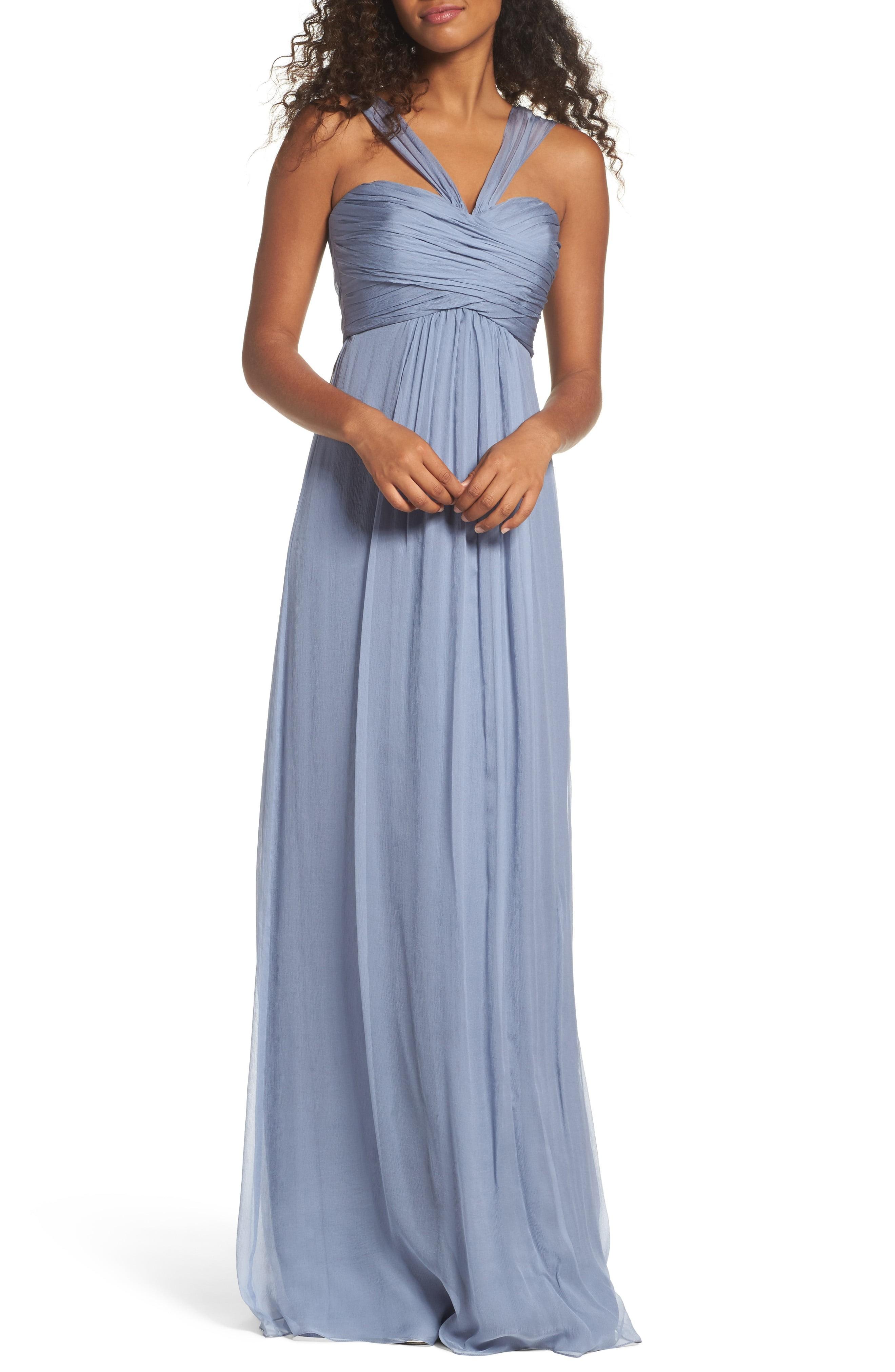 Light blue bridesmaid dresses ombrellifo Gallery