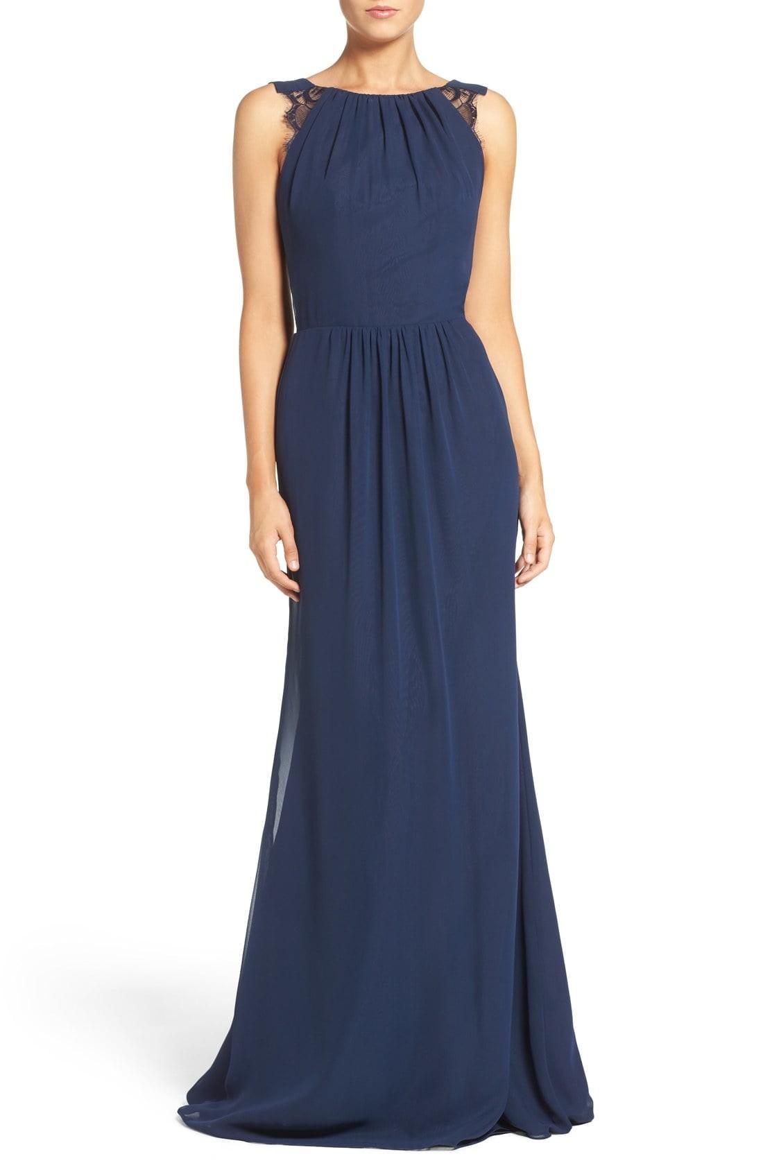 Dark blue bridesmaid dresses navy blue bridesmaid dresses nordstrom ombrellifo Image collections