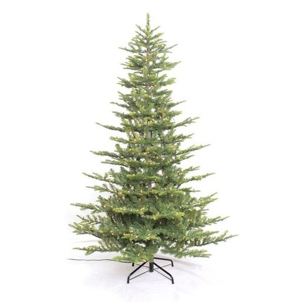 the most realistic pre lit christmas trees