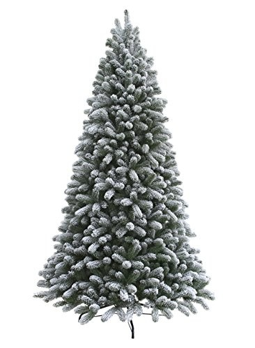 SHOP ALL FLOCKED CHRISTMAS TREES HERE - Best Flocked Christmas Trees: Multiple Sizes & Styles