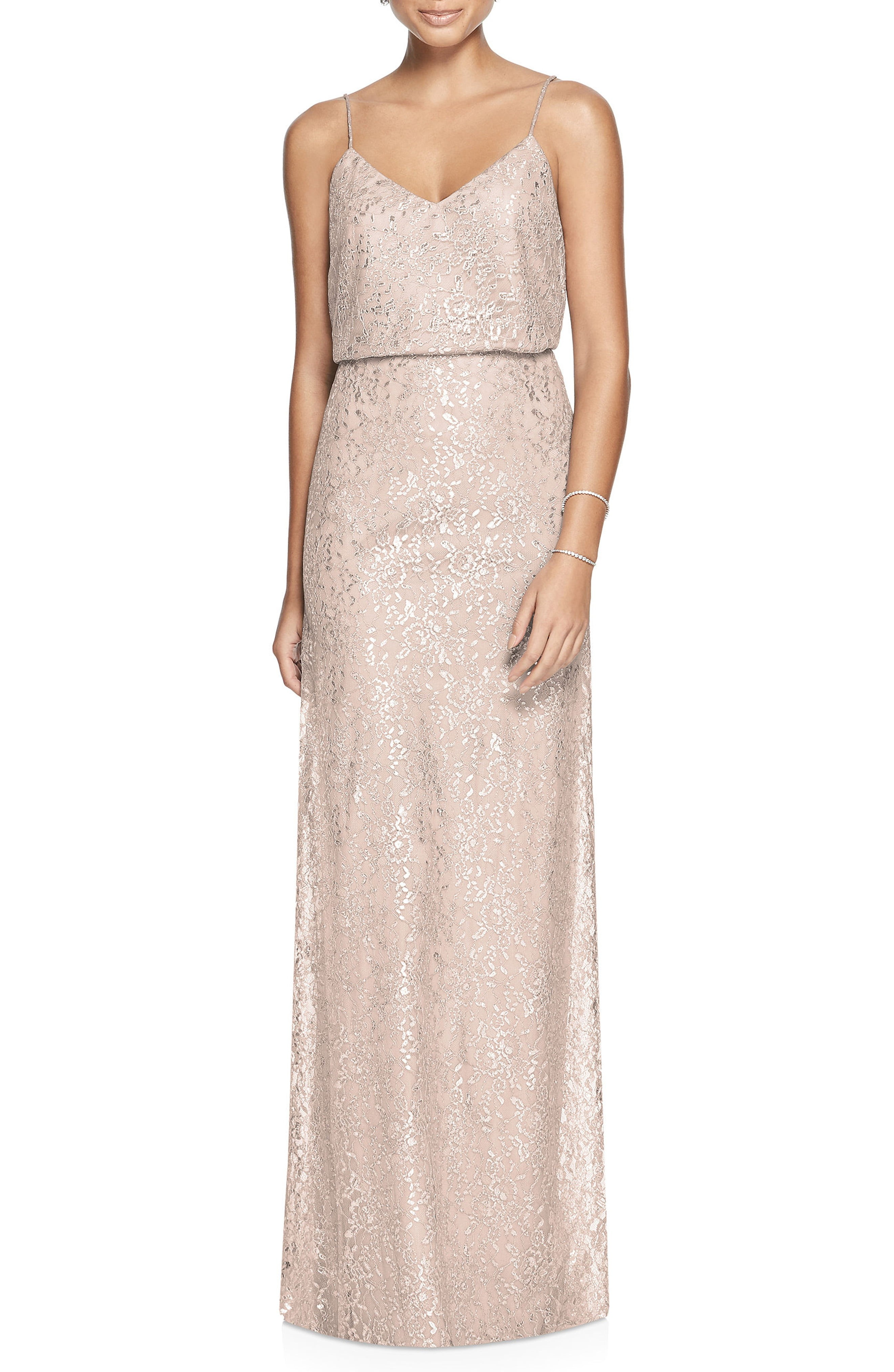 Beaded metallic and sequined bridesmaid dresses nordstrom ombrellifo Choice Image