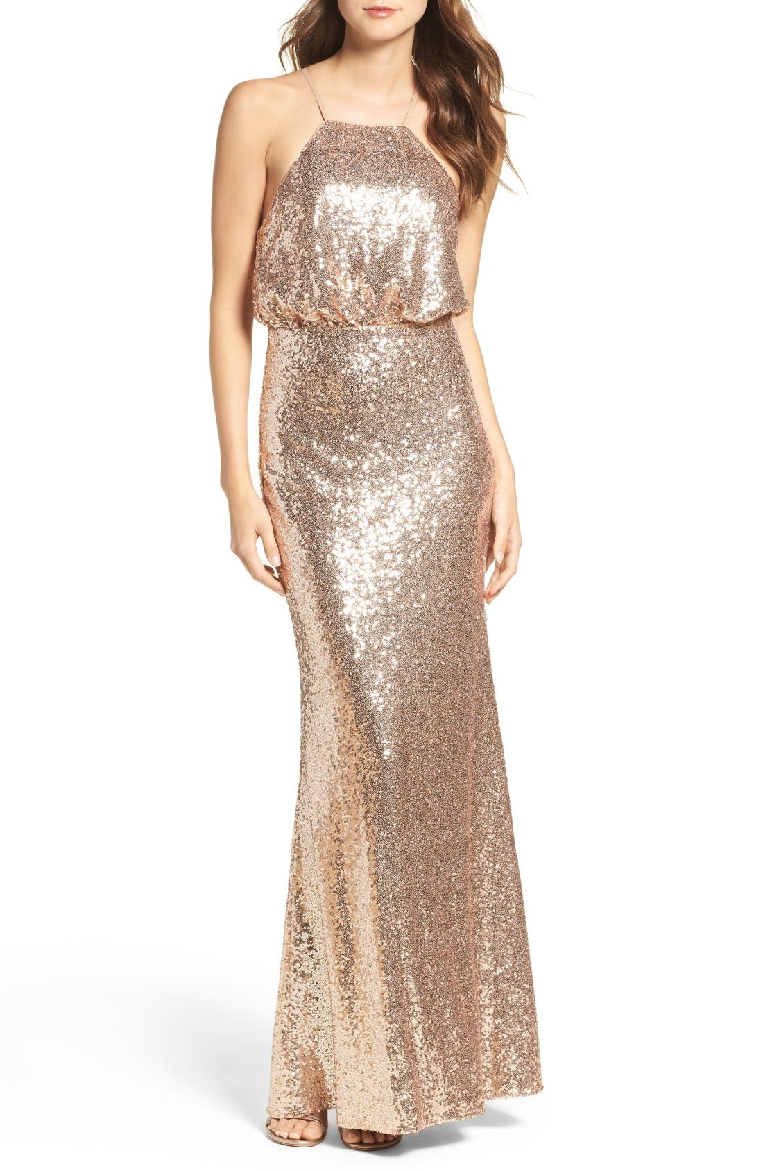 Beaded metallic and sequined bridesmaid dresses nordstrom ombrellifo Images