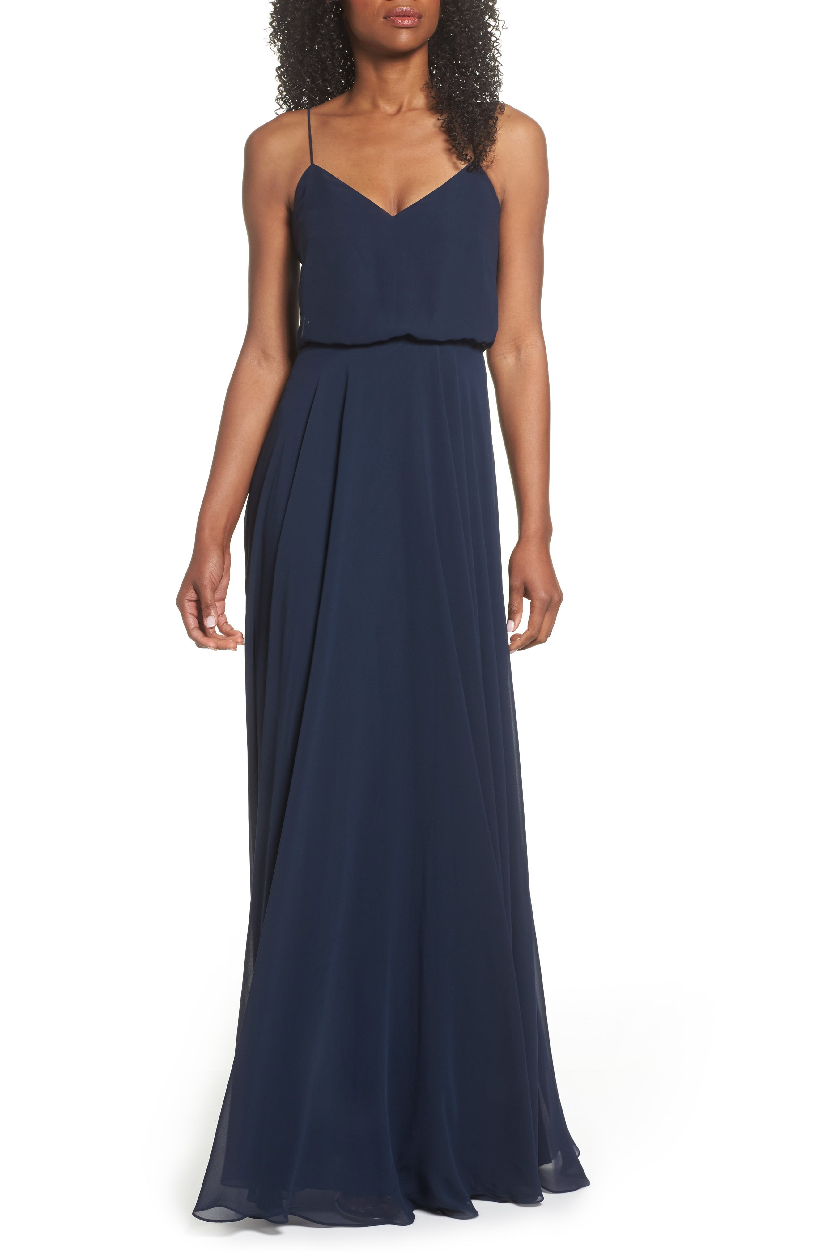 Dark blue bridesmaid dresses navy blue bridesmaid dresses nordstrom ombrellifo Images