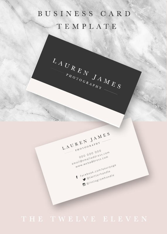 26 wedding photographer business cards templates that youll love minimalist designs reheart Choice Image