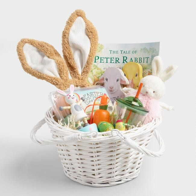 Easter goodies do say give world market has great baskets and lots of goodies to put in them negle Choice Image