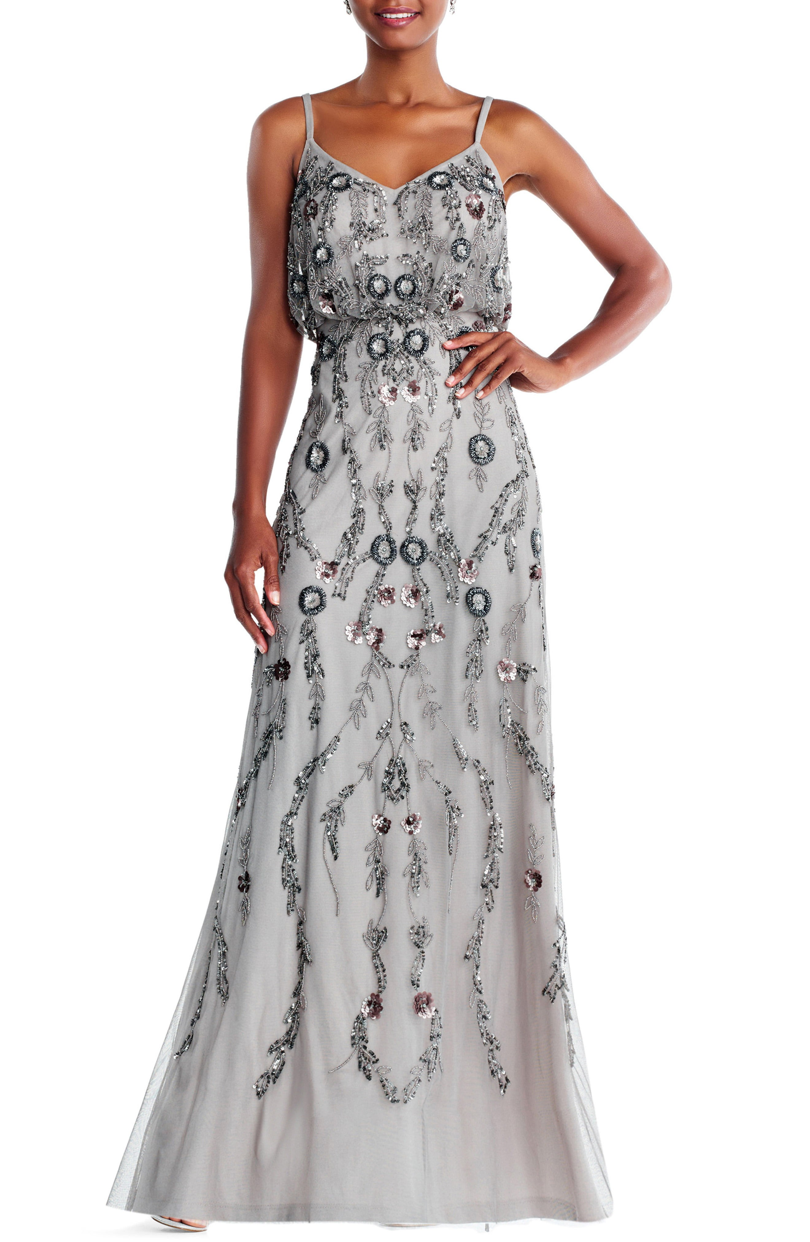 Silver or gray bridesmaid dresses ombrellifo Image collections