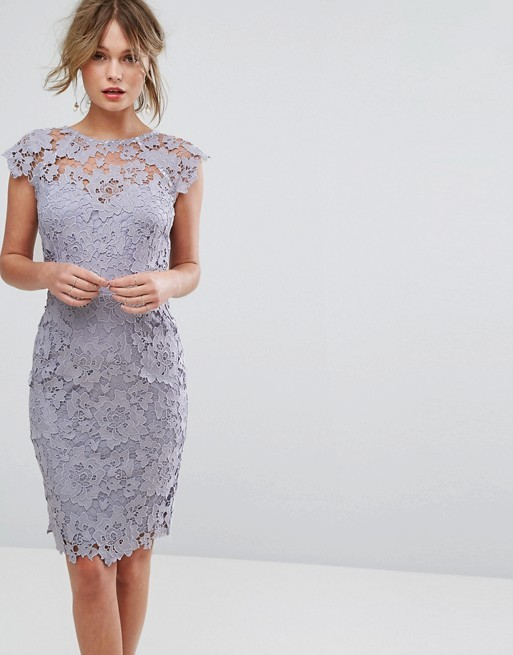 Silver and Gray Dresses for Weddings