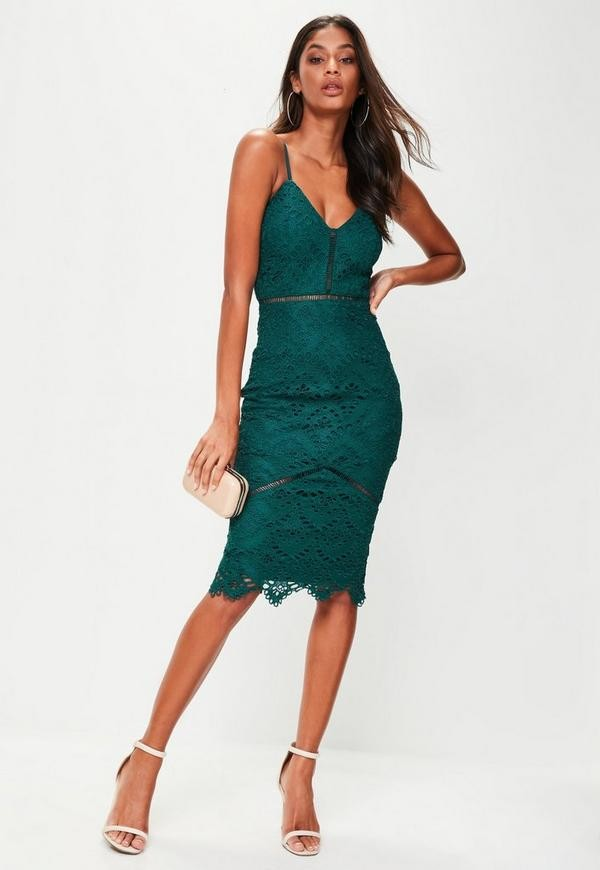 The Look Green Wedding Guest Dresses