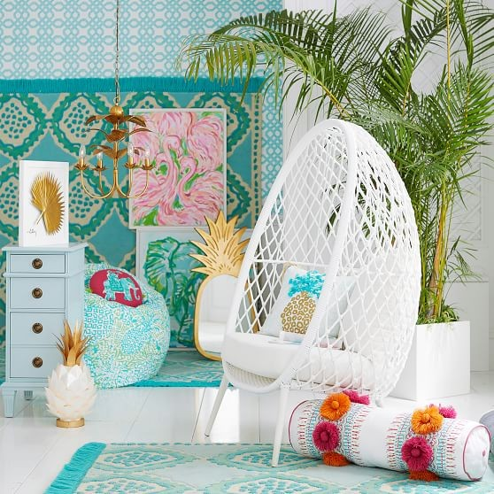 The Best Of Lilly Pulitzer For Pottery Barn Home Collection By Southern Lifestyle Blogger Stephanie