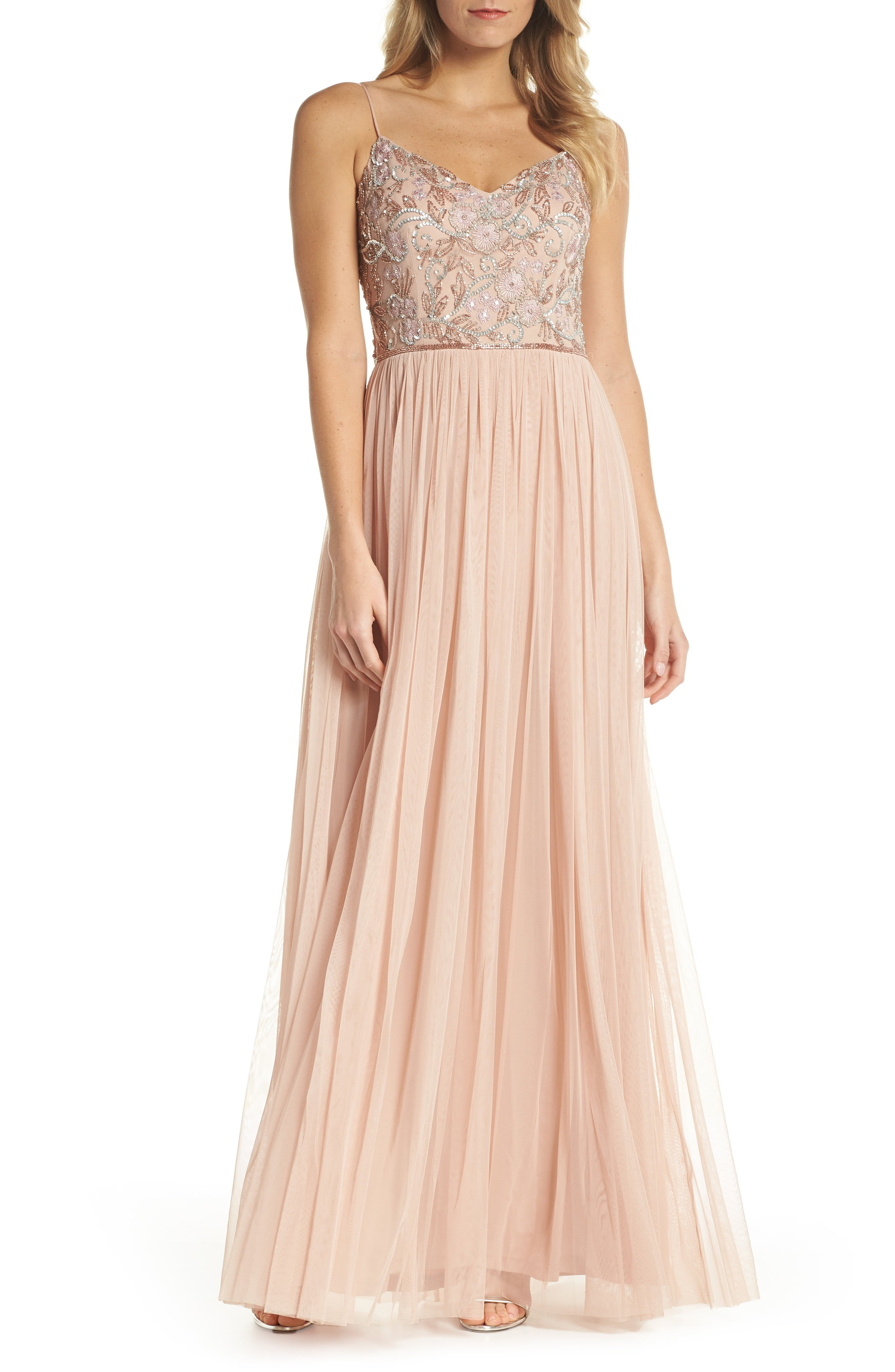 Blush and pink bridesmaid dresses for weddings pink bridesmaid dresses for weddings ombrellifo Images
