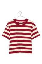 eeeaff2681061a Madewell Easy Crop Red Stripe Tee - Poor Little It Girl