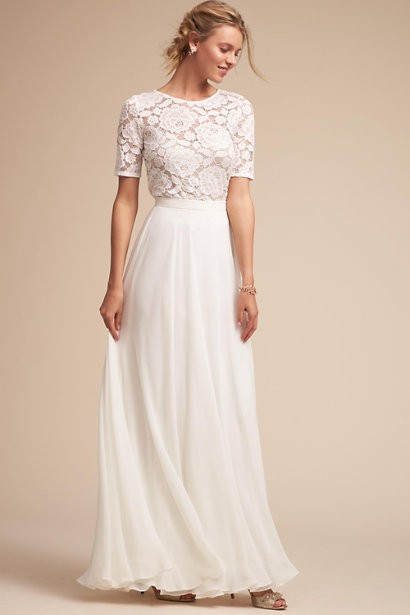832e65120ee Possibly the Most Epic Selection of Two Piece Wedding Dress Bridal ...