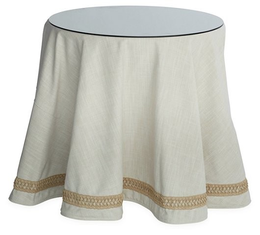 Round Table Skirts Decorator.Ode To The Skirted Table Katie Considers