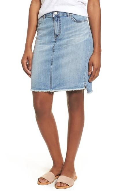 251e16466 Not Interested in Shorts? Wear a Denim Skirt for Spring / Summer ...