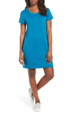558c8afac8d A CASUAL SHIFT DRESS   WEDGES. 5 Mom friendly summer outfits you will wear  nonstop. COBALT SHIFT DRESS