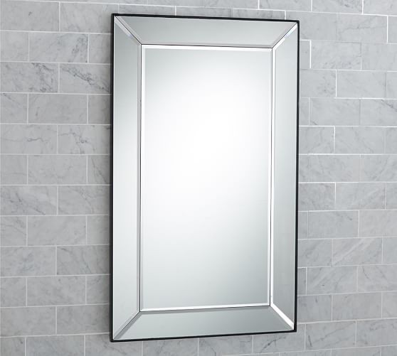 Astor Recessed Medicine Cabinet Just Enough Sparkle In A 20 X 33 Generously Sized Mirror And